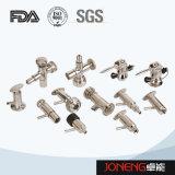 Válvula de la muestra de la transformación de los alimentos del acero inoxidable (JN-SPV2002)