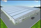 Facile montare il disegno della disposizione della costruzione della struttura d'acciaio