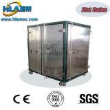 Máquina doble de la purificación de aceite del transformador del vacío de las etapas