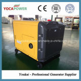 générateur de diesel de pouvoir refroidi par air silencieux portatif du cas 5kVA