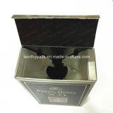 Коробка лоснистого вина бумаги с покрытием упаковывая