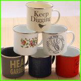 Customized OEM Soon Printed Design Ceramic Enamel Mug/Water Cup