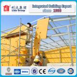 Almacén fabricado de la estructura de acero