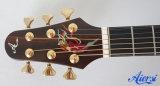 Guitarra acústica superior dobro profissional da alta qualidade de Aiersi (SG03DCZ)