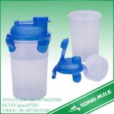 bottiglia di plastica dell'agitatore del Palaestra 500ml per lo sport