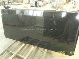Jet Mist Granitplatte für Fliesen und Arbeitsplatte Project (Virginia Mist schwarz)