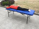 Leichter rostfreier Eisen-Massage-Tisch, beweglicher Tisch der Massage-Mt-001
