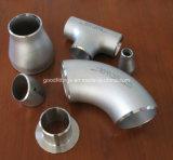 Sin costura o soldadura a tope de soldadura de acero inoxidable accesorios de tubería con PED, TUV