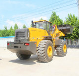 240HP Engine Powered Wheel Type Front Loader 6 Tons