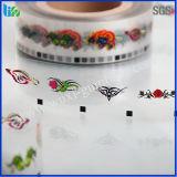 Vario documento del tatuaggio di gomma da masticare di immagini del cliente nell'uso durevole