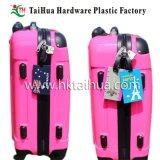 Подгонянная бирка багажа PVC логоса с Thx-002