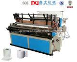 Máquina de fazer papel higiênico com rebobinador automático completo
