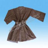 Wegwerfsauna-Mantel-Kimono-Mantel