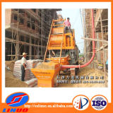Concrete Pump를 가진 V-8 Forced Concrete Mixer Machine Concrete Mixer