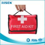Kit de primeros auxilios del kit de primeros auxilios de la escritura de la etiqueta privada/cremallera/bolso de los primeros auxilios