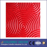 충격을 가하는 Decorative Performance Embossed 3D Wood Wave Board