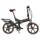 Suspensin posteriore all'interno della bicicletta pieghevole elettrica En15194 della batteria approvata