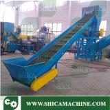 300-400kg/H horizontaler Typ entwässernmaschine für trockene Plastikflocken
