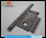 Striscia scorrevole d'acciaio composta di Corc-G che fa scorrere il basamento della fodera con il piatto placcato di Portare-Resistenza