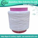 Spandex des matières premières 620d de couche-culotte de bébé en caoutchouc normal