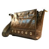 New Fashion Oil Leather Ladies Satchel Bag / Hight Qualidade M10226