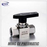 Válvula de alta presión de Hydralic para el gas natural hecho en el acero inoxidable 304