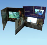 5.0'' Customized LCD Video Wedding Card