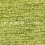 폴리에스테 녹색 날실 화재 또는 방연제 내화성이 있는 커튼 직물