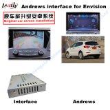 para Opel Buick Regal, Lacrosse, navegação do toque do melhoramento da enclave (SISTEMA da SUGESTÃO do carro), WiFi, BT, Mirrorlink, caixa video da relação do sistema de navegação de HD