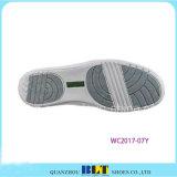 Zapatos de la zapatilla de deporte del estilo del golf de la PU