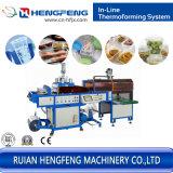 Contenitore di alimento di plastica d'impilamento automatico che forma macchina (HFTF-2023)