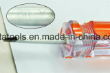 Ручка отвертки прозрачная при покрынный кром
