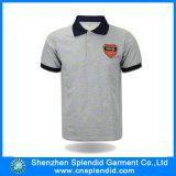 Concevoir la chemise en fonction du client de polo de combinaison de couleur de chemise de polo