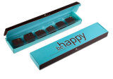 초콜렛 자신의 디자인을%s 가진 서류상 선물 상자
