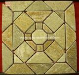 Ardósia de pedra natural do mosaico dos malhas para a parede/revestimento/decoração