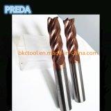 Máquina-instrumento dos cortadores do moinho de extremidade das flautas do carboneto 4