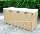Muebles de exterior Caja de cojín Caja de almacenamiento a prueba de agua Caja de playa durable