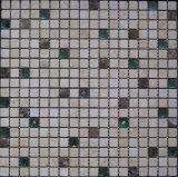 TV Backgrond (FYSG061)のための水晶混合された大理石の石造りのモザイク・タイル