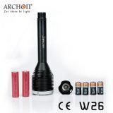 Archonte 1, lumière de torche de plongée du CREE Xm-L2 U2 DEL de 000lumens W26