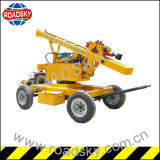 Strecke Safety Construction Hydraulic Guardrail Pile Driver für Sale