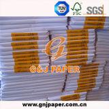 белая бумага сандвича 17-23GSM в листе в упаковке коробки