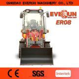 Cargador certificado Ce de la rueda de la maquinaria de construcción Er08 de la marca de fábrica de Everun 2017 pequeño