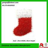 Kerstmis Decoration van Tinsel Sock (zjhd-gj-WZ001)