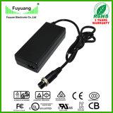 5 chargeur de batterie du pack batterie 21V 3A de lithium de cellules avec le certificat