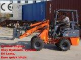Kleine Farm Loader (HQ908) mit Palettengabel, Perkins Motor