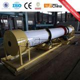 Secador de cilindro giratório da areia do consumo de baixa energia