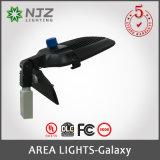 LED - Dispositivo di Shoebox 150 watt - uguale di watt di 400 MH - 3000/4000/5000 di supporto di Slipfitter - di Kelvin - tipo distribuzione chiara di II III IV V