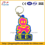 2016 PVC en gros Key Chain de Promotional Gifts Custom Soft Rubber 3D