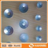 Slugs lisos ou abobadados redondos/ovais/côncavos/do retângulo alumínio