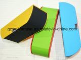Artesanal personalizado de papelão óculos de sol e óculos caso